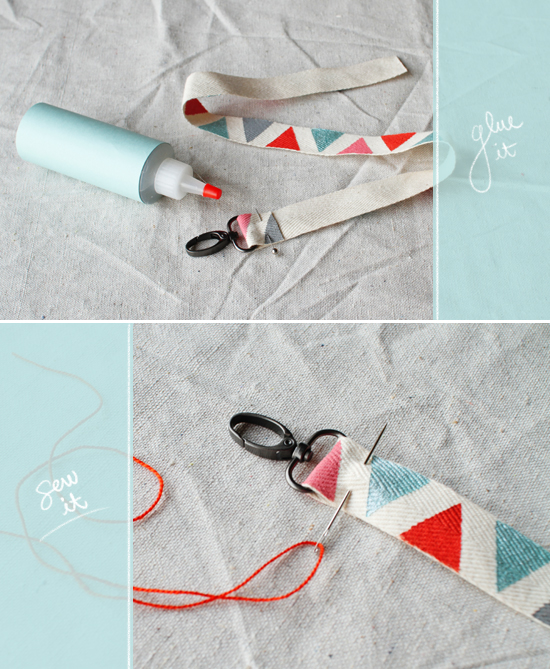Camera Strap DIY- Glue Sew