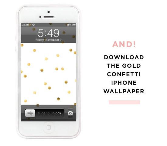 Dress Your Tech: Gold White Phone Wallpaper | For Chic Sake