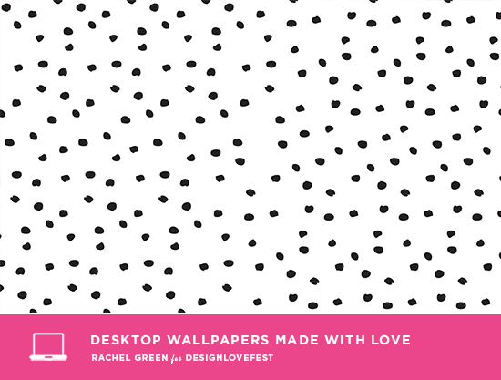 rachel green wallpaper / designlovefest