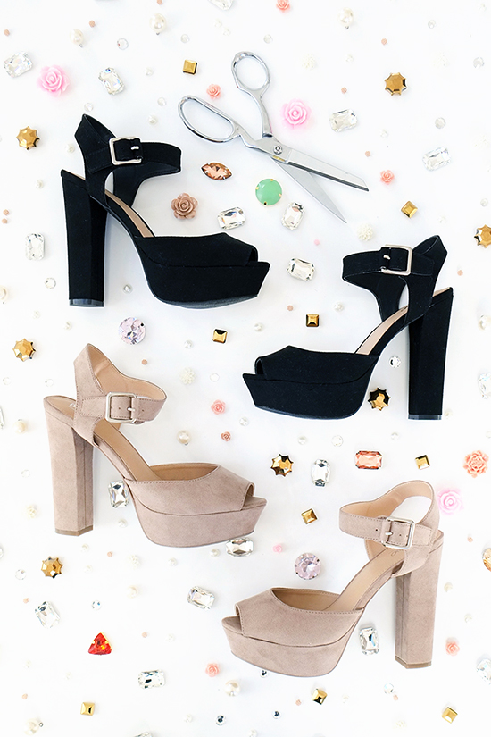 DIY holiday shoes | designlovefest