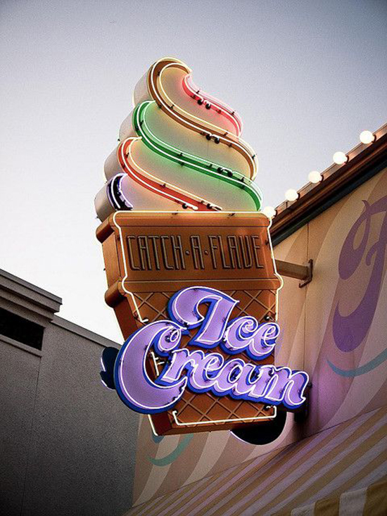 about town ice cream | designlovefest
