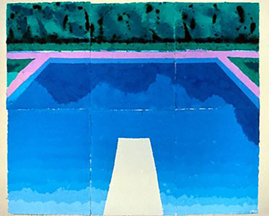 D e s i g n l o v e f e s t cool dude david - David hockney swimming pool paintings ...