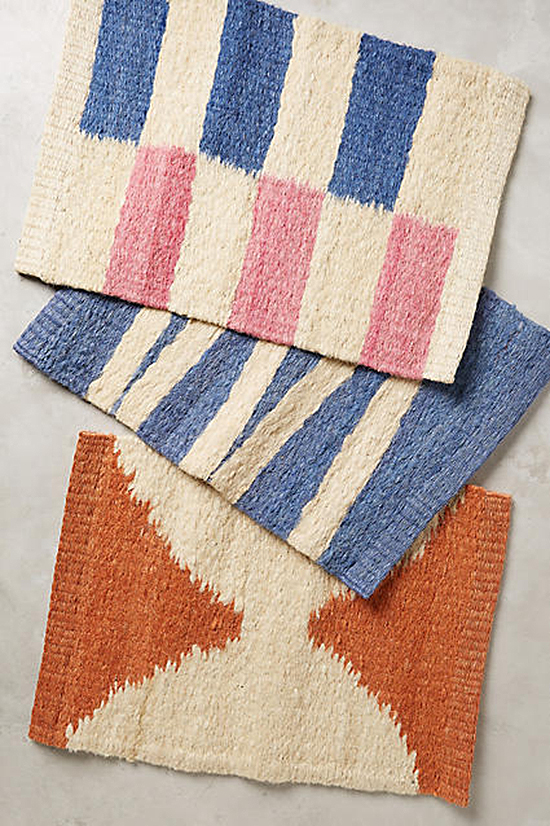 door mats | designlovefest