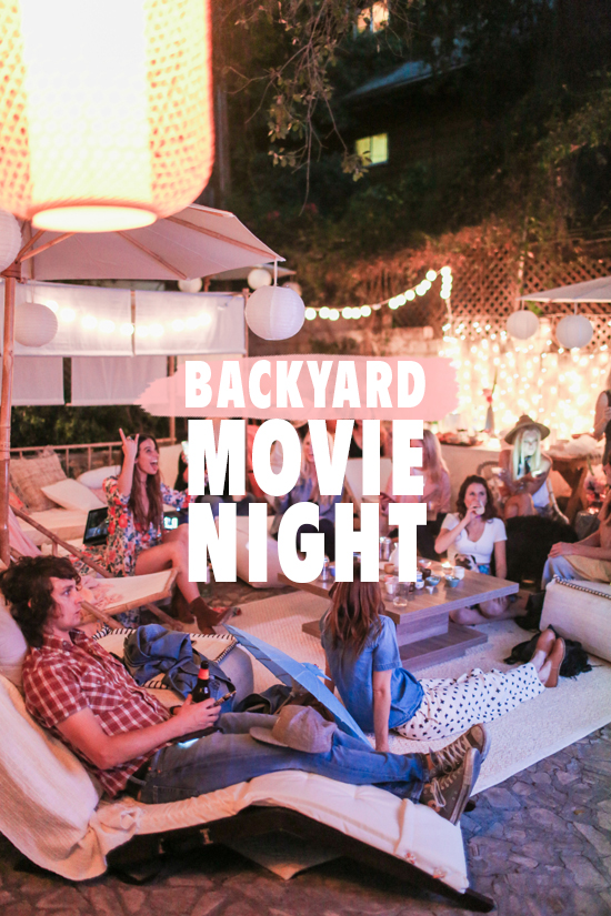 movie night | designlovefest