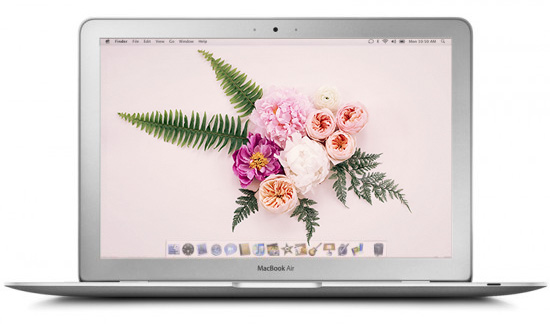 floral desktop downloads | designlovefest
