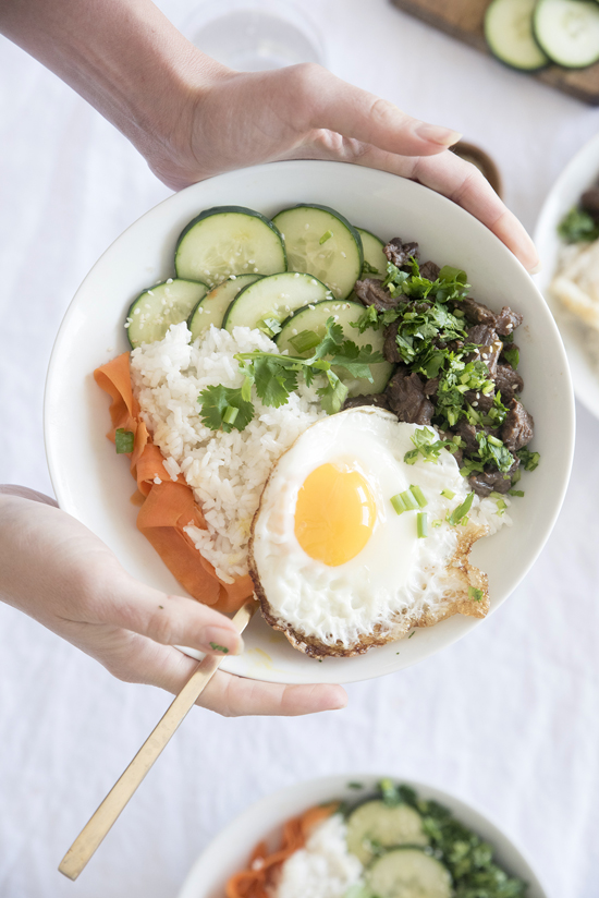 WEEKNIGHT DINNER BEEF BOWLS | designlovefest