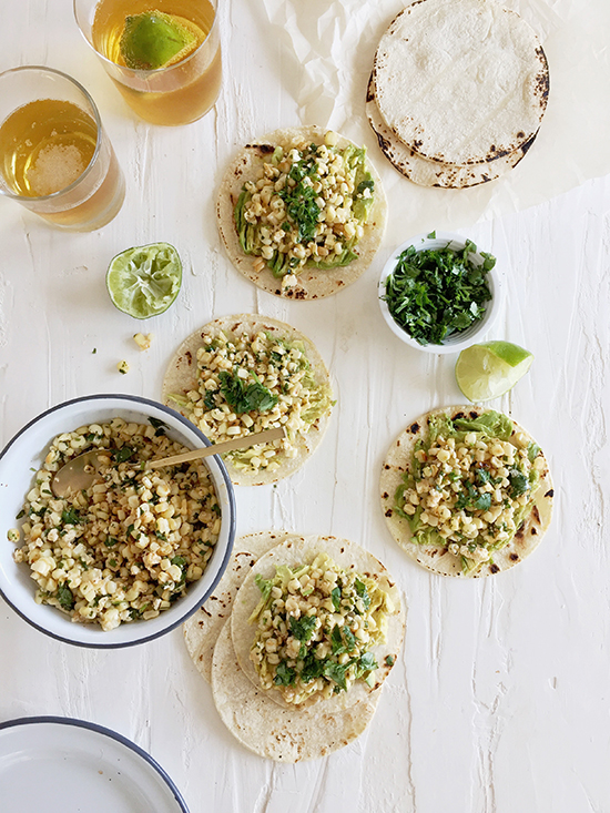 Mexican corn salad | designlovefest