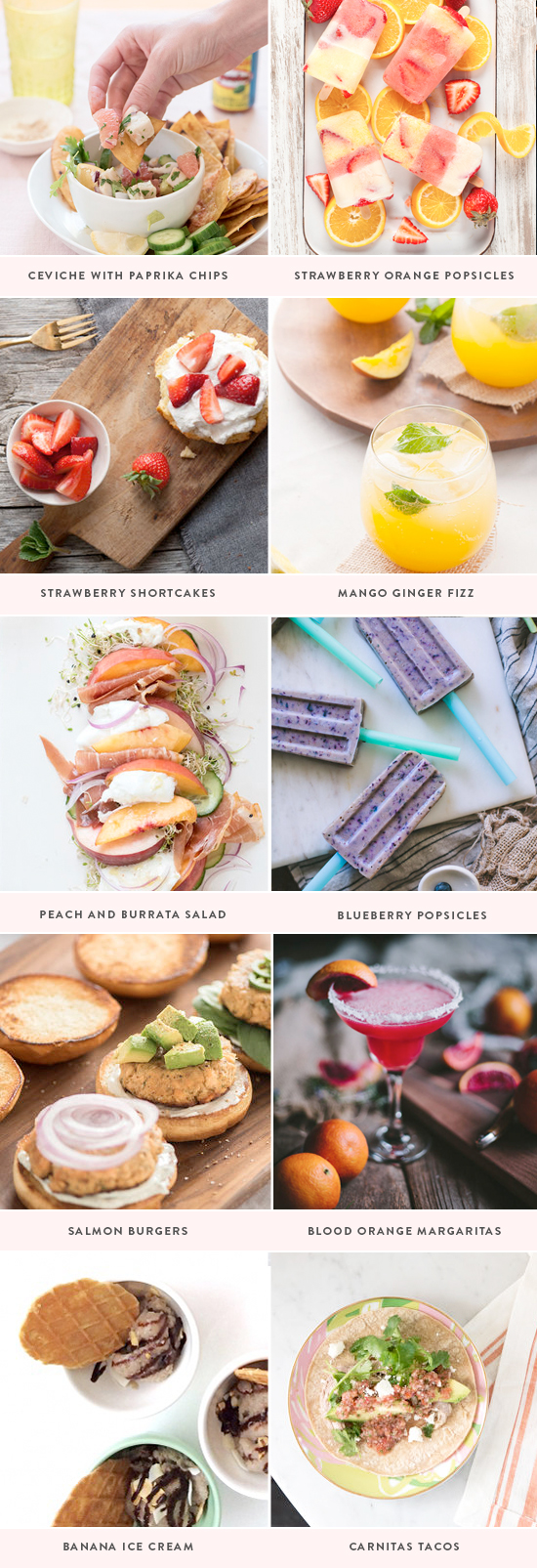 4th of July recipes | designlovefest