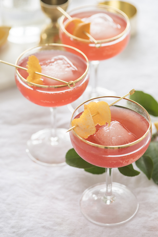 kombucha cocktail | designlovefest