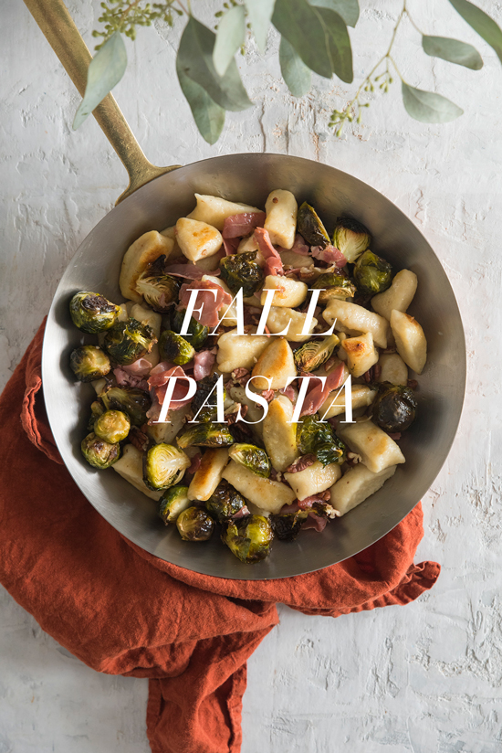 fall pasta | designlovefest