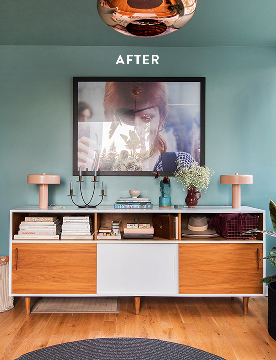 entryway makeover | designlovefest