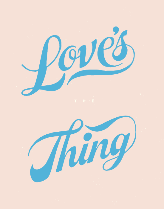 hand-drawn love | designlovefest