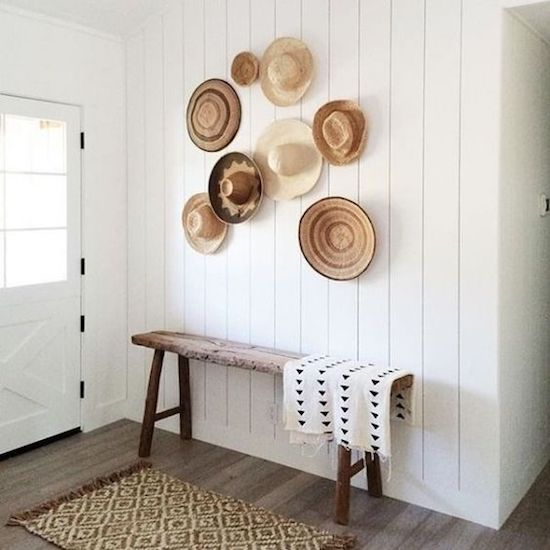 straw hats | designlovefest