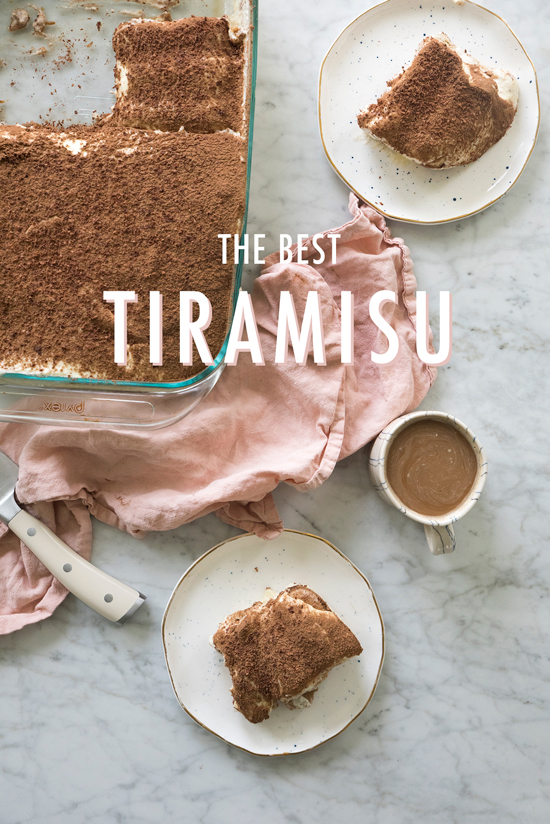 the best tiramisu recipe | designlovefest