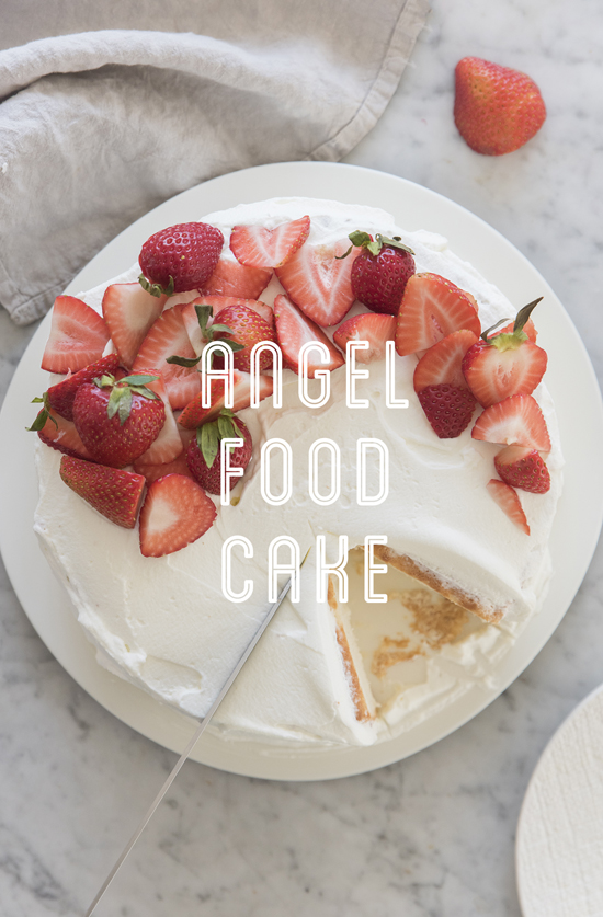 angel food cake | designlovefest
