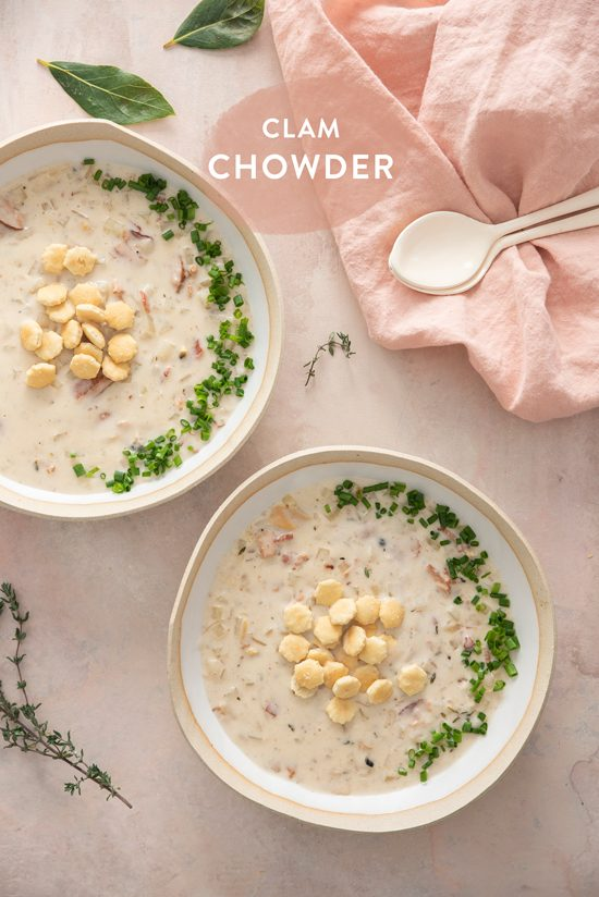 clam chowder | designlovefest