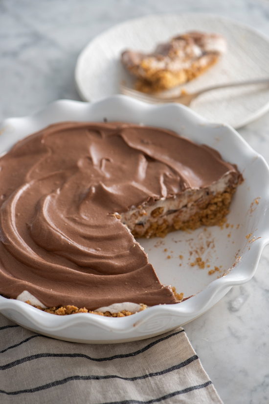 chocolate angel strata pie | designlovefest