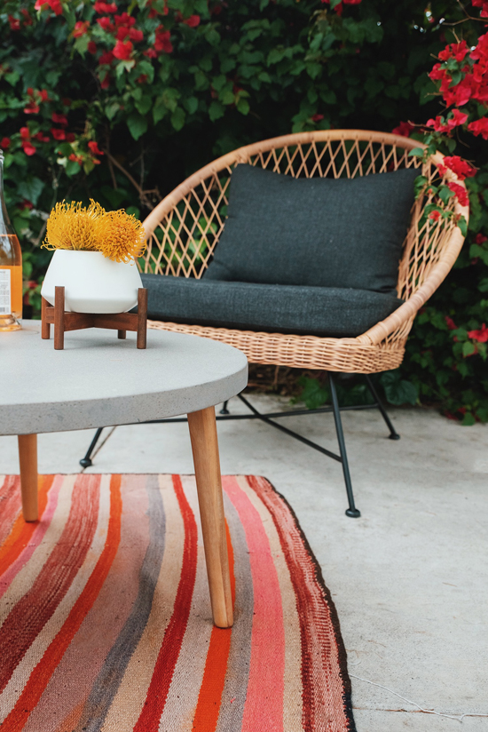 front patio makeover | designlovefest