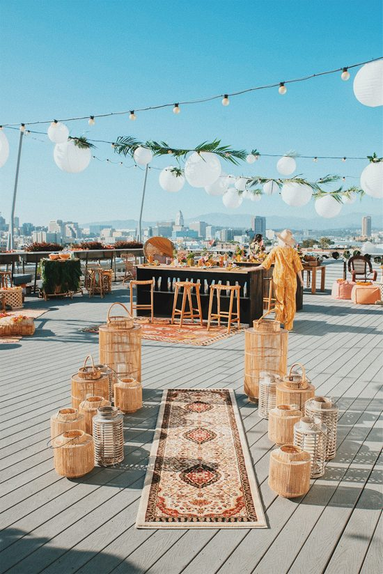 a tiki party at ROW | designlovefest